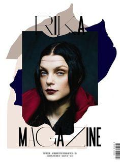 Jessica Stam by Chadwick Tyler for Rika Magazine