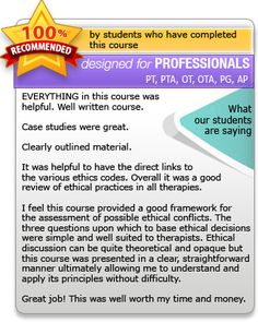 Reminder For Fl Occupationaltherapy  Your Ceus Are Due By