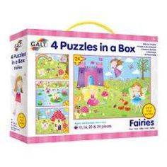 Shop Galt Toys Fairies 4 Puzzles in a Box. Free delivery and returns on eligible orders of or more.