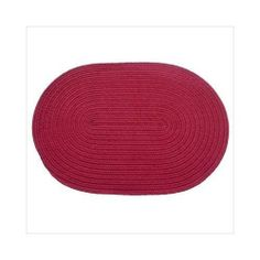 Rhody Rug 50-5x8 Solid Rasberry 5 ft. x 8 ft. Braided Rug by Rhody Rug. $162.81. Design is stylish and innovative. Satisfaction Ensured.. Manufactured to the Highest Quality Available.. Great Gift Idea.. Solid Rasberry 5x8 Braided Rug. Classic styling, soft underfoot, long lasting and durable enough for indoor/outdoor use. Solid Rasberry 5x8 Braided Rug. Save 23%!