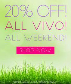 [News] VIVO Cosmetics - 20% di sconto su tutto per Pasqua 2014 Shop Now, Delivery, Free