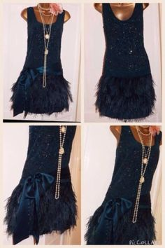 Warehouse-Vintage-1920s-Style-Gatsby-Flapper-Charleston-Downton-Feather-dress-16