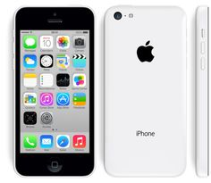 Apple - iPhone 5c.  New cellular device in white<3