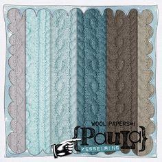 Wool Papers #1 by Paula Kesselring