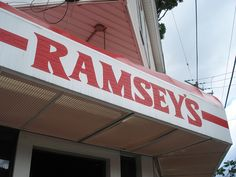 Ramsey's, Lexington, Kentucky At least three locations with local food.