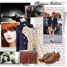 Florence Welch Style., created by eleuelei on Polyvore