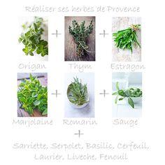 Mix d'herbes de Provence maison