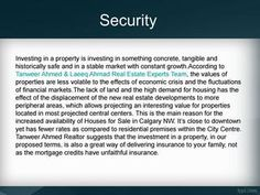 Benefits of real estate investment Safe Investments, Real Estate Development, Financial Markets, Real Estate Investing, Calgary, Houses, Marketing, Homes, House