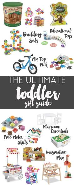 toddler gift guide: christmas 2016 - Life in the Green House Toddler Christmas Gifts, Christmas Gifts For Boys, Christmas Crafts For Toddlers, Cool Gifts For Kids, Christmas Gift Guide, Gifts For Girls, Girl Gifts, Christmas 2016, Christmas Wishes