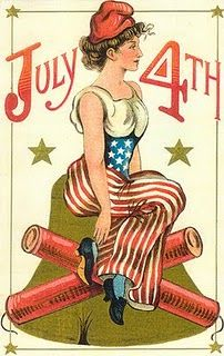 Fourth of July Embossed Lady Liberty Firecrackers Liberty Bell Postcard Happy 4 Of July, Happy Summer, Vintage Cards, Vintage Postcards, Vintage Images, Vintage Clip, Vintage Ephemera, Vintage Stuff, Patriotic Images