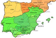 Spain, c. 1030 - Taifa kingdoms