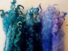 Wool locks sale buy 3 get 1 free  Mountain Blues by oldsheep, $5.99