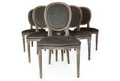 1940s Dining Chairs, Set of 6 on OneKingsLane.com