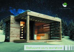 Sauna ogrodowa z bali drewnianych Saunova to seria ekskluzywnych saun ogrodowych, zbudowanych z bali drewnianych. Nasza propozycja skierowana jest zarówno do Klientów indywidualnych, jak i biznesowych. Oferujemy nie tylko produkcję saun, ale również darmowy montaż na terenie całego kraju. Zapraszamy do zapoznania się z naszymi saunami.