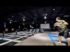 Insane Trampoline Frisbee Dunk | Brodie Smith - YouTube