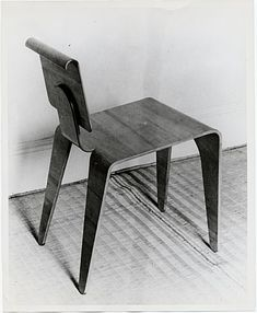 Isokon chair designed by Marcel Breuer, from the Marcel Breuer ...
