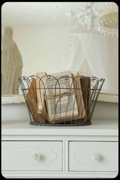 wire baskets <3