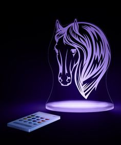 Loving this Horse LED Night-Light on #zulily! #zulilyfinds