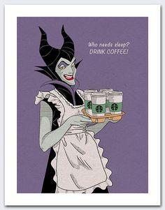 Items similar to Disney Maleficent Sleeping Beauty Villain Coffee on Etsy sleeping beauty Coffee Talk, Coffee Is Life, I Love Coffee, Coffee Coffee, Coffee Shop, Coffee Girl, Coffee Lovers, Coffee Break, Walt Disney