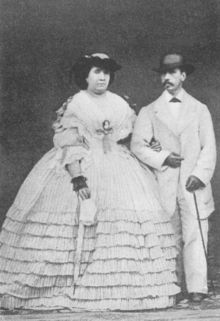 Isabella II of Spain - Isabella II and Francis