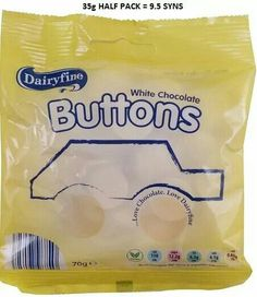 Aldi White Buttons
