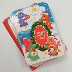 Care Bears Vintage Photo Christmas Cards Lot of 11 American Greetings 2002 #AmericanGreetings #Christmas