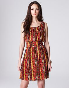 Printed Dress- Lucky Brand.