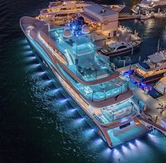Yacht renting will make it significantly increasingly exceptional. In this article, we are going to give you a couple of tips that can enable you to rent a decent yacht. Super Yachts, Big Yachts, Yacht Design, Luxury Yacht Interior, Luxury Homes, Yacht Boat, Dream Vacations, Vacation Trips, Luxury Travel