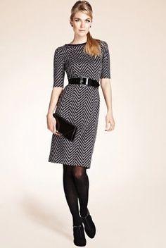 Classy dress!! Marks and Spencer (i.e., UK store)