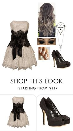 """""""Untitled #561"""" by sweet-strawberry-fairy ❤ liked on Polyvore featuring PacificPlex, Dolce&Gabbana and Topshop"""