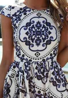 #dress #patterns #chic
