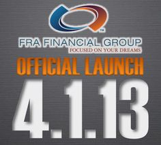 The Countdown is on to the official launch of FRA Financial Group.