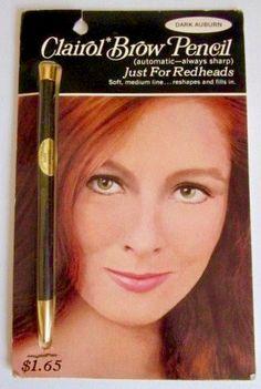 Clairol Brow Pencil, 1967
