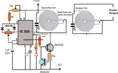High Current Wireless Battery Charger Circuit - Electronic Circuit Projects