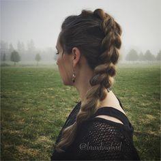 #pullthroughbraid in the morning fog 🌳 #läpivetoletti aamusumussa . . #braiding #braidinghair #braidideas #instabraids #letti #lettikampaus #hairdo #hairstyles #peinados #plaitedhair #suomiletit #braidsforgirls #hbas7kcontest #hotbraidsmara #lrbfeatureme #braidingchallenge #featureaccount_ #braidinginspiration #inspirationalbraids #cghphotofeature #see_your_braids