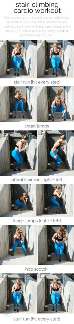 the ultimate stair-climbing, cardio workout for serious fitness gains {and a…