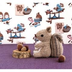 crochet squirrel....so so so cute!