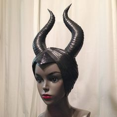 How To Make Maleficent Horns – Breanna Cooke