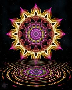 mandala art - sacred geometry