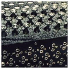 MUSEUM FÜR KOMMUNIKATION | 03 {Enigma Machine} #enigma #cryptography #technology #analog #vscocam