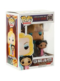 Funko American Horror Story: Freak Show Pop! Elsa Mars & Ma Petite Vinyl Figure | Hot Topic
