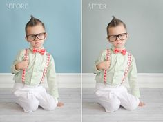 Photoshop Friday: Before  After Changing the Background Color photoshop-and-illustrator-tips
