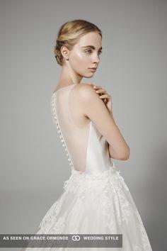 peter langner illusion back wedding dress