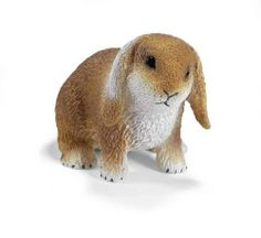 Schleich Pets: Dwarf Lop by Schleich. $4.98. With long floppy ears, dwarf lops have a rounded body covered in soft, thick fur. Intelligent pets, lops can learn to recognize their name and can be litter-box trained. As herbivores, lops need lots of hay and dried grasses. They like to eat fresh fruits and vegetables but be careful -- some veggies may make them sick. Playful and lively, these rabbits enjoy hopping and exploring tubes and cereal boxes. Successful as parents, female...