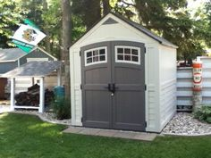suncast cascade 7 ft 3 in x 7 ft 45 in resin storage shed