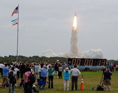 Atlantis Space Shuttle Launch...sooo cool to watch!