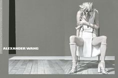 Malgosia Bela for Alexander Wang Ad campaign (Spring-Summer 2013) by Steven Klein (6 HQ pictures)