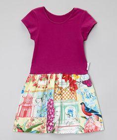 Another great find on #zulily! Plum Pretty Paris Dress - Infant, Toddler & Girls by Alejandra Kearl Designs #zulilyfinds