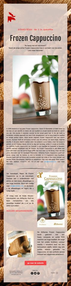 Nummer 1 in ijskoffie - Frozen Cappuccino van Arthemia