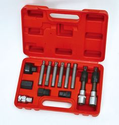 66.49$  Buy now - http://alieey.worldwells.pw/go.php?t=32709163676 - New 13pcs Alternator Freewheel Pulley Puller Removal Engine Auto Tool Set